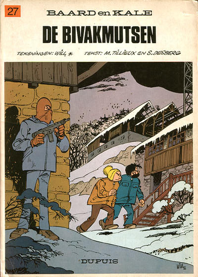 Cover for Baard en Kale (Dupuis, 1954 series) #27