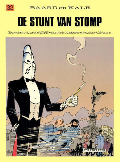 Cover for Baard en Kale (1954 series) #32