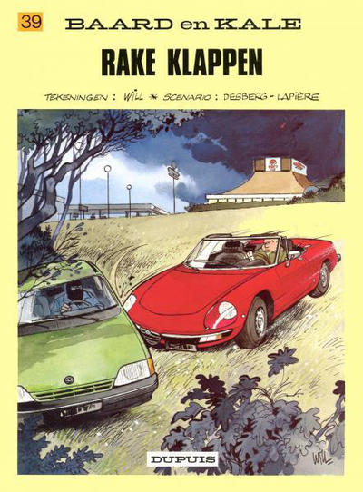 Cover for Baard en Kale (1954 series) #39