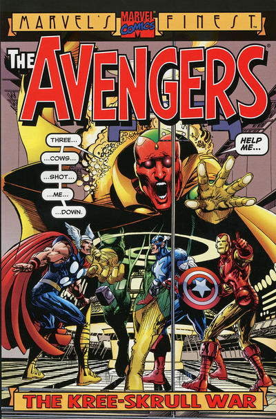 Cover for Avengers: The Kree-Skrull War (2000 series) #[nn]