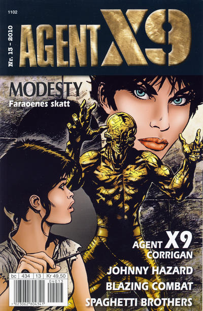Cover for Agent X9 (1998 series) #13/2010