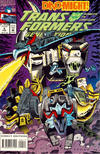 Cover for Transformers: Generation 2 (Marvel, 1993 series) #4 [Direct Edition]