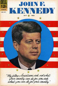Cover Thumbnail for John F. Kennedy (Dell, 1964 series) #August-October 1964