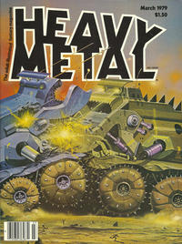 Cover for Heavy Metal Magazine (HM Communications, Inc., 1977 series) #v2#11 [Direct Sales]