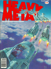 Cover for Heavy Metal Magazine (HM Communications, Inc., 1977 series) #v3#8 [Direct Sales]