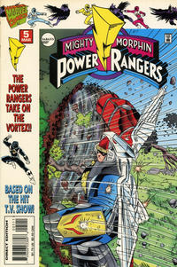 Cover Thumbnail for Saban's Mighty Morphin Power Rangers (Marvel, 1995 series) #5
