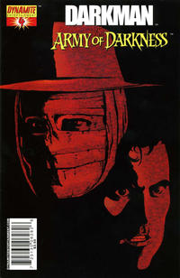 Cover Thumbnail for Darkman vs. The Army of Darkness (Dynamite Entertainment, 2006 series) #4 [George Pérez Cover]