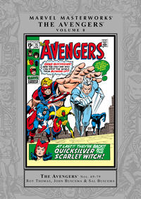 Cover Thumbnail for Marvel Masterworks: The Avengers (Marvel, 2003 series) #8 [Regular Edition]