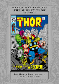 Cover Thumbnail for Marvel Masterworks: The Mighty Thor (Marvel, 2003 series) #8 [Regular Edition]