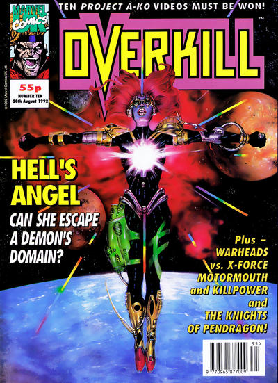 Cover for Overkill (Marvel UK, 1992 series) #10