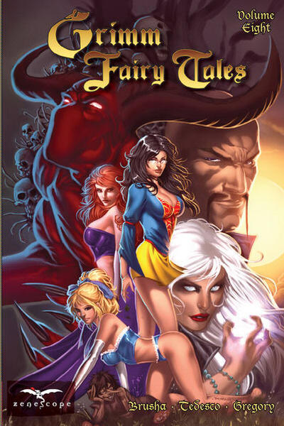 Cover for Grimm Fairy Tales (Zenescope Entertainment, 2006 series) #8
