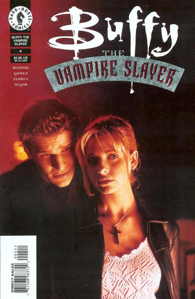 Cover for Buffy the Vampire Slayer (1998 series) #4