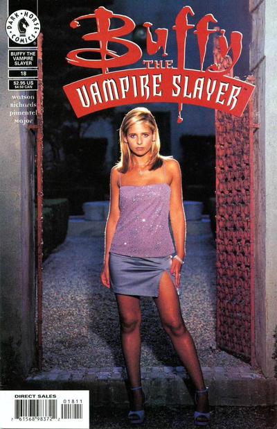 Cover for Buffy the Vampire Slayer (Dark Horse, 1998 series) #18 [Photo Cover]
