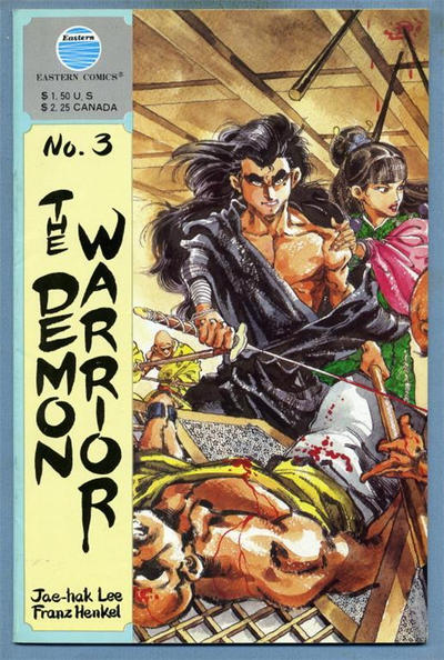 Cover for The Demon Warrior (Eastern Comics, 1987 series) #3