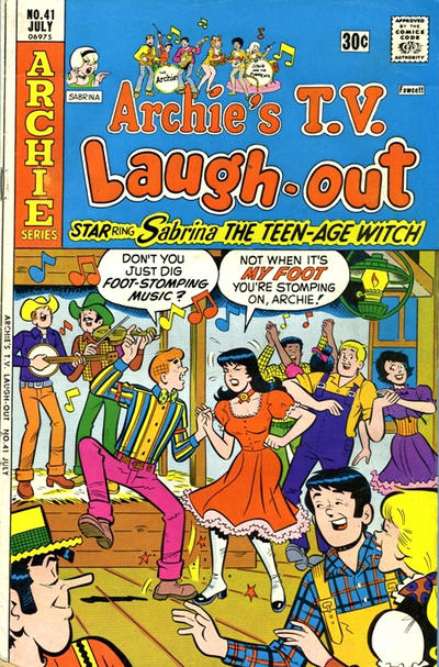 Cover for Archie&#39;s TV Laugh-Out (1969 series) #41
