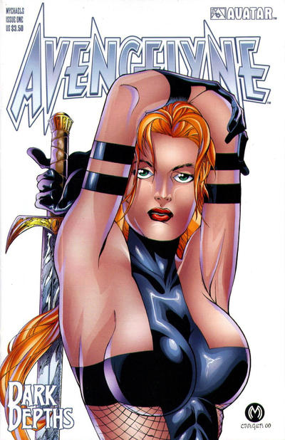 Cover for Avengelyne: Dark Depths (Avatar Press, 2001 series) #1