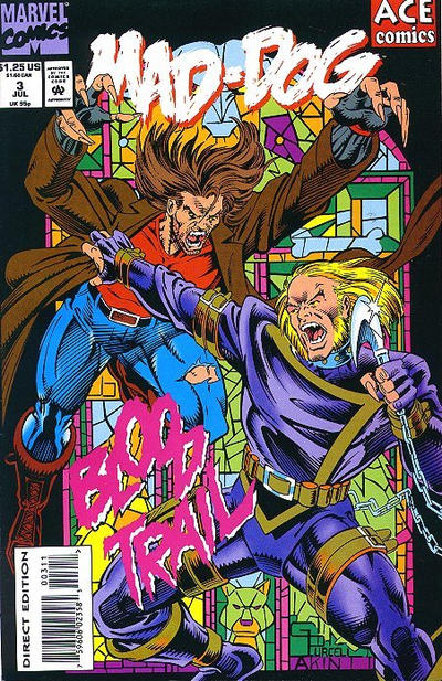 Cover for Mad-Dog (1993 series) #3