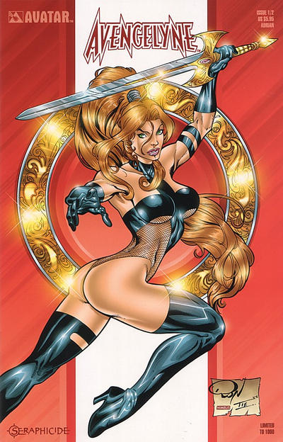 Cover for Avengelyne: Seraphicide (Avatar Press, 2001 series) #1/2