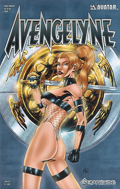 Cover for Avengelyne: Seraphicide (Avatar Press, 2001 series) #1 [Hall]
