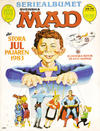 Cover for Mad's stora julpajare (Semic, 1982 series) #1983