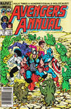 Cover Thumbnail for The Avengers Annual (1967 series) #13 [Canadian Newsstand Edition]