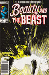 Cover for Beauty and the Beast (Marvel, 1984 series) #1 [Canadian Newsstand Edition]