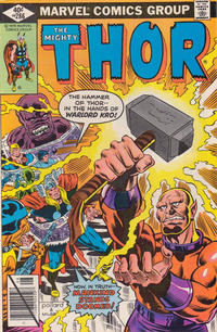 Cover Thumbnail for Thor (Marvel, 1966 series) #286 [Direct Edition]