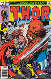 Cover Thumbnail for Thor (Marvel, 1966 series) #285