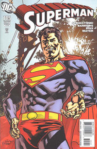Cover for Superman (DC, 2006 series) #705 [Direct]