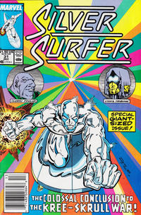 Cover Thumbnail for Silver Surfer (Marvel, 1987 series) #31 [Newsstand Edition]