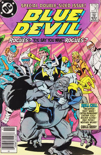 Cover Thumbnail for Blue Devil (DC, 1984 series) #30 [Canadian Newsstand]