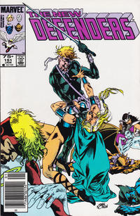 Cover for The Defenders (1972 series) #151 [Direct Edition]