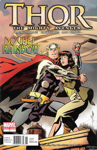 Cover Thumbnail for Thor the Mighty Avenger: Double Rainbow (Marvel, 2010 series) #1