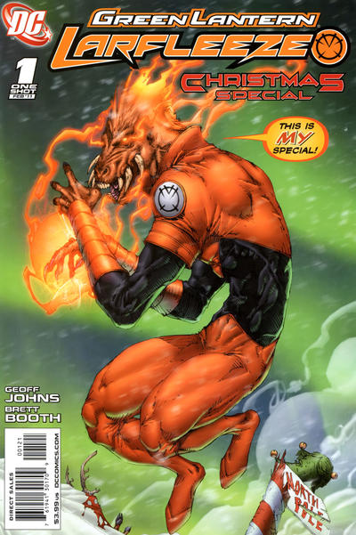 Cover for Green Lantern: Larfleeze Christmas Special (DC, 2011 series) #1 [Cover A]