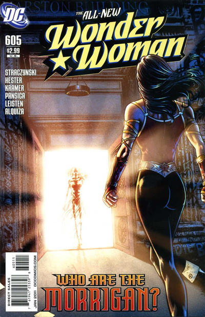 Cover for Wonder Woman (DC, 2006 series) #605