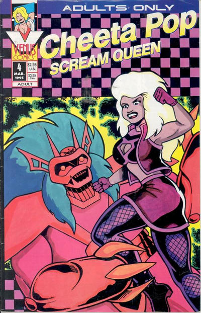 Cover for Cheeta Pop Scream Queen (1994 series) #4