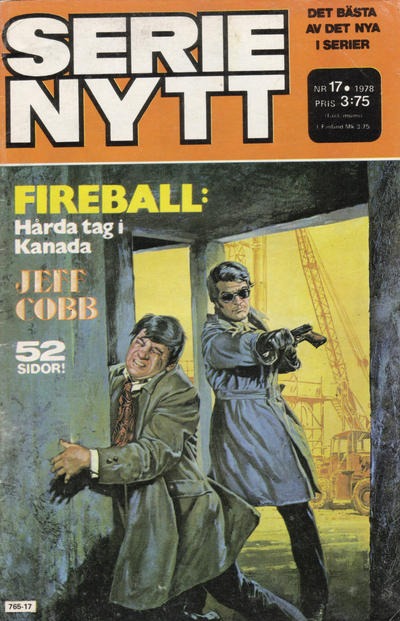 Cover for Serie-nytt [delas?] (Semic, 1970 series) #17/1978