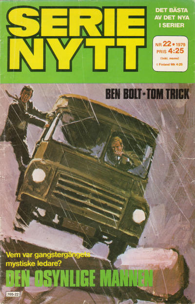 Cover for Serie-nytt [delas?] (Semic, 1970 series) #22/1979