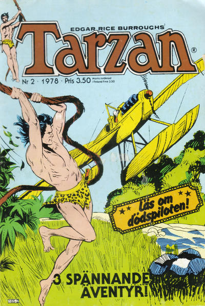 Cover for Tarzan (1977 series) #2/1978