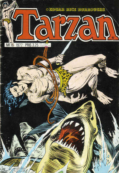 Cover for Tarzan (1977 series) #16/1977