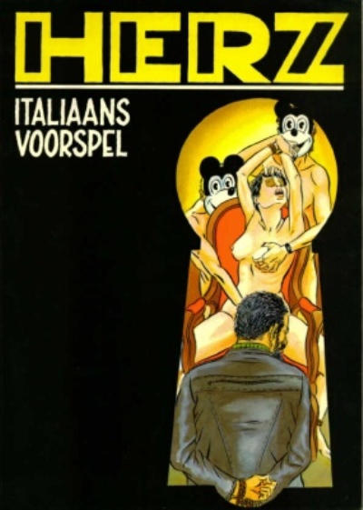 Cover for Zwarte reeks (1986 series) #11
