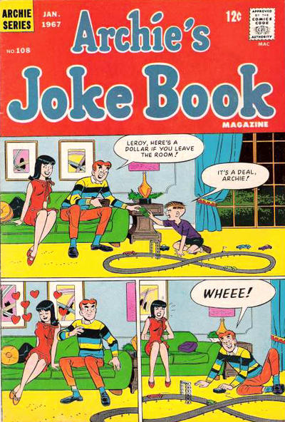 Cover for Archie's Joke Book Magazine (Archie, 1953 series) #108
