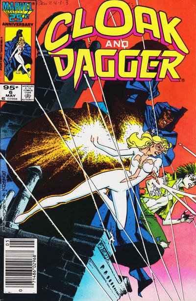 Cover for Cloak and Dagger (Marvel, 1985 series) #6 [Canadian Newsstand]