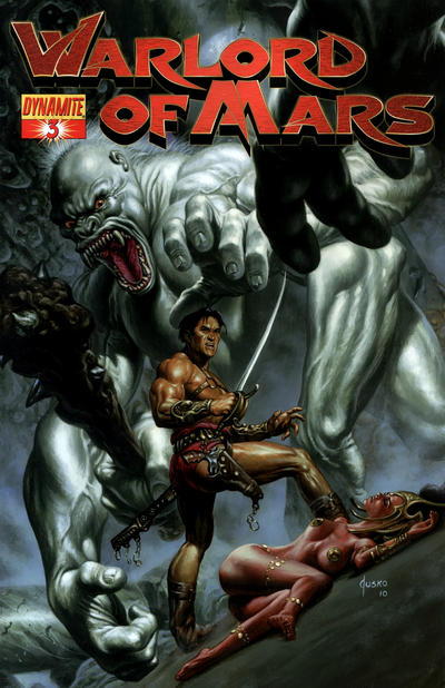 Cover for Warlord of Mars (2010 series) #3 [Cover D - Lucio Parrillo]
