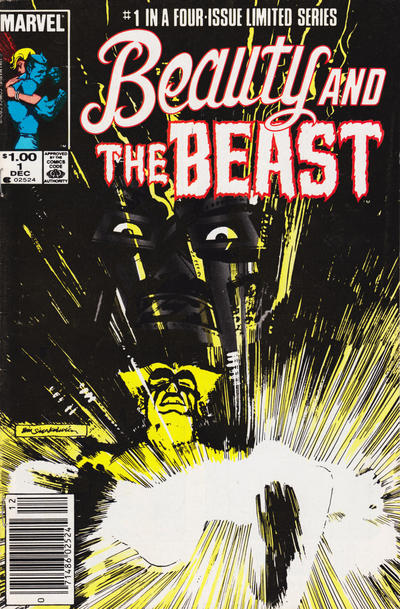 Cover for Beauty and the Beast (Marvel, 1984 series) #1 [Direct Edition]
