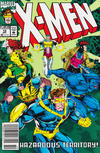 Cover for X-Men (Marvel, 1991 series) #13 [Newsstand Edition]