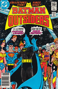 Cover Thumbnail for Batman and the Outsiders (DC, 1983 series) #1 [Canadian Newsstand]