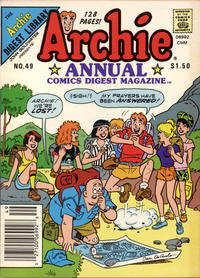 Cover for Archie Annual Digest (Archie, 1975 series) #49 [US Newsstand]