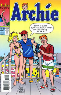 Cover Thumbnail for Archie (Archie, 1959 series) #439 [Direct]