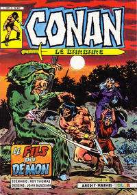 Cover Thumbnail for Conan le Barbare (Arédit-Artima, 1984 series) #2